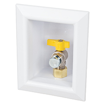 The OxBox gas box features 1/4u2013turn ball valve for easier and secure operation a recessed box made of high-impact ABS to eliminate ...  sc 1 st  Sioux Chief & Supply | Access