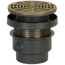 sioux chiefu0027s commercial drainage products run the gamut including ongrade drains flashing drains large capacity drains roof drains and cleanouts